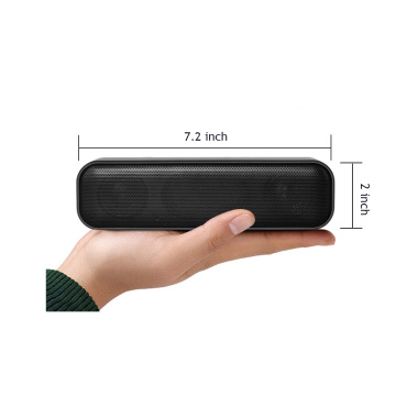 Computer Sound Bar Stereo USB alimentato Mini