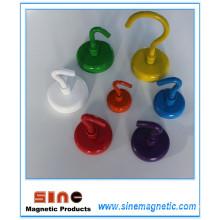 Цветной распылитель Сильный постоянный магнитный крюк NdFeB