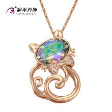 Xuping Fashion Luxury CZ Crystal Jewelry Warovski colgante (32582)