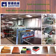 7x9 melamine laminated press machine / woodworking press machine