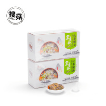 Hot sale okra soup including mushroom from China