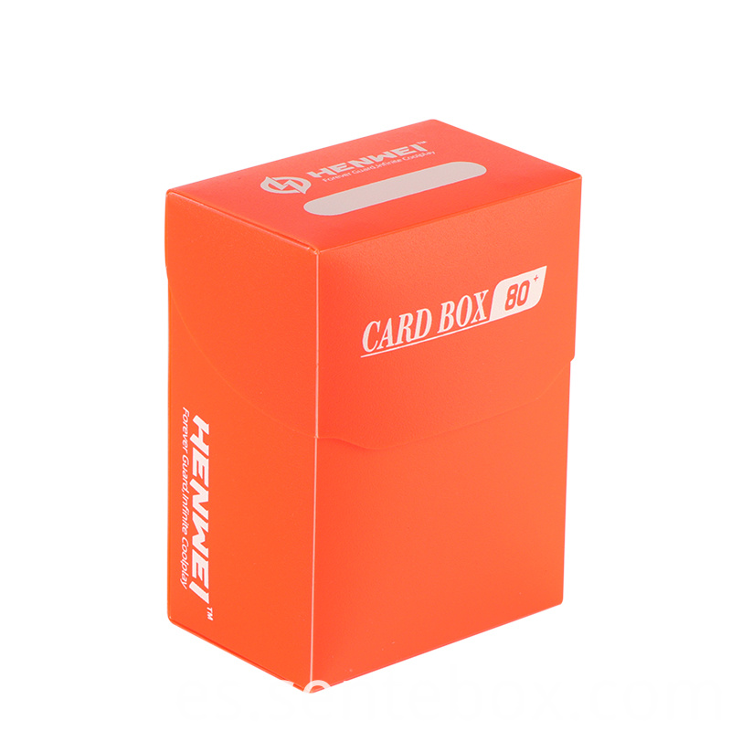 Colorful Plastic 80 Pcs Capacity Deck Boxes