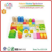 Chine Toy Meilleur cadeau Woodland Forest Animal Bricks de jouets pour enfants pour garçons et filles