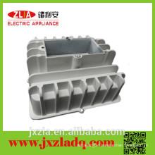 Big rectangular heatsink, aluminum led lamp heatsink
