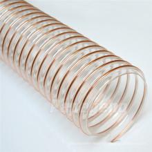 Large Diameter Polyurethane Clear Reinforced Flexible Ducting Hose