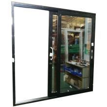 powder coated aluminium sliding door systems with gold tea colour glass