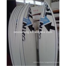 Epoxy fiberglass kiteboard