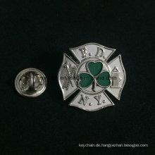 Fördernde Metall geprägte weiche Emaille-Marken-Logo-Ausweise