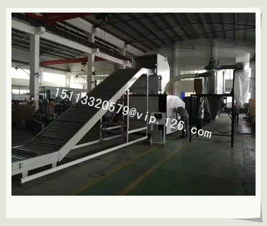 plastic recycling production line