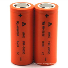 Batterie rechargeable Mnke 26650 3.7V 3500mAh 35A Discharge Li-ion Battery