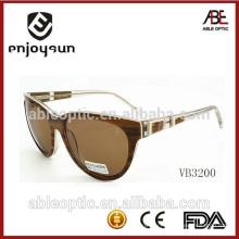 Позолоченный дизайн ацетат солнцезащитные очки 2015