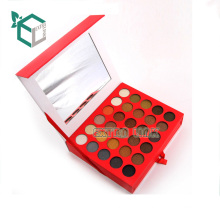 popular craft paper cardboard empty eyeshadow pan cosmetic packaging Boxes with magnetic lid