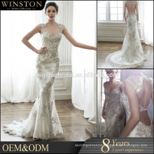High quality off united nations dress couture heavy beaded wedding dress