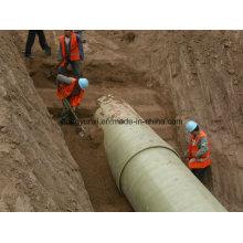 Tubo de areia FRP ou GRP para água ou indústrias químicas