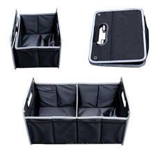 Folding Trunk Organizer Oxford Cloth Car Storage Bag Compartment Foldable Pockets Portable Cargo Carrier