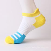 Chaussettes de sport en coton à demi-éponge pour hommes (MA703)