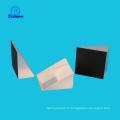 Prisme à angle droit K9 et prisme rectangulaire et prisme à angle de 120