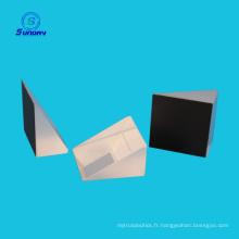 Prisme optique à lentilles biconvexes de 2 à 30 mm de haute précision et prisme de Littrow