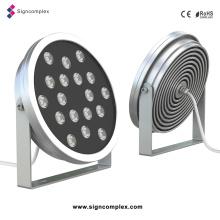 Le projecteur le plus bas du prix LED RVB IP65 36W avec du CE RoHS