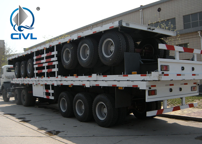 40ft Container Flat Bed Trailer