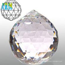Verschiedene Farbe Multi facettierte Kristallkugeln