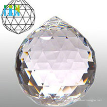 Different Color Multi Faceted Crystal Balls
