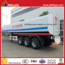 3axles 40-55cbm Chemical Tanker Semi Trailer for Sulfuric Acid
