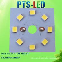 Módulo LED 8W DC PCB SMD2835 com alta PF