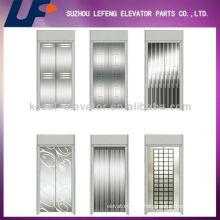 Нержавеющая сталь / зеркало / травильная дверь лифта