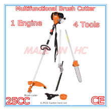 4 in 1 Multifunctional Brush Cutter with 25CC Gasoline Engine (MP260)
