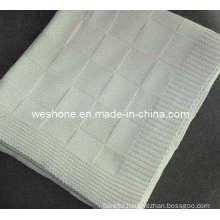100% Soft Cotton Knit Blanket