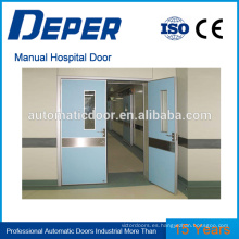puerta automática de la fábrica del hospital puerta automática de la fábrica puerta de cierre automático mecanismo de perfiles de aluminio puerta automática