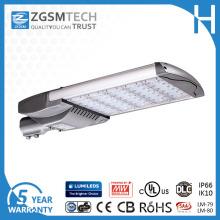 165W LED luz de rua com UL Ce certificação IP66 Ik10