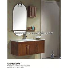 2013 Latest High glossy painted small corner bathroom vanity