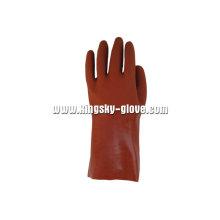 13G nahtlose Liner Sandy Finish PVC Arbeitshandschuh-5112
