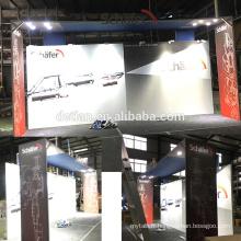 La conception portative de stands d'exposition de salon commercial de l'offre 10x20ft de Detian, affichage léger de cabine