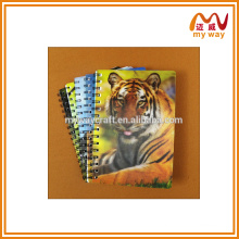 Capa de caderno espiral kawaii para animais de estimação, produzir para crianças