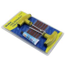Автомобильный байк Бескамерный плоский ремонт шин Набор инструментов с вилками