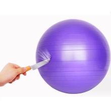 plastic high quality yoga ball Custom size color eco-friendly gym ball fitness ball