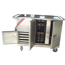 THR-FC001 Stainless Steel Electric Heated Food Cart