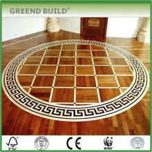 Patrones de piso de medallón de mosaico de oficina