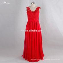 RSE719 Sexu Back Open Evening Dress Red Sexy Mature Party Dress