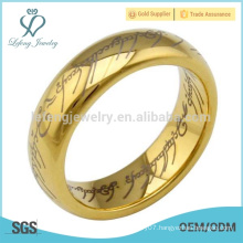 Eternal love pattern tungsten rings for couple