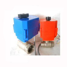 24v 110v 220v dn20 dn32 dn50 ss304 CTF-001 válvula de control de flujo motorizada 10nm
