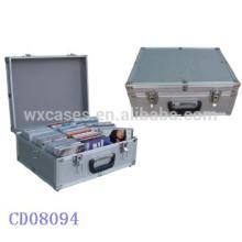 NEW 60 CD disks(10mm)aluminum DVD case wholesales