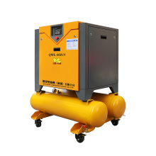 15KW 20HP  220V 2in1 screw compressor electric rotary laser cutting screw type air compressor with Tank