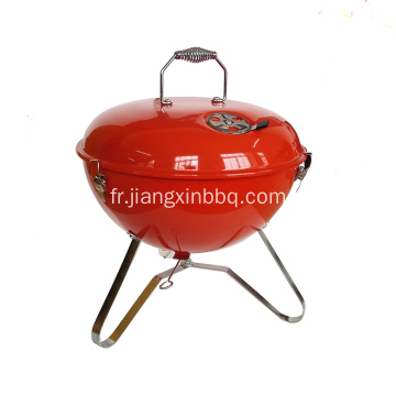 Barbecue au charbon portable de 14 ""