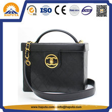 Cosmetic Box for Lady with Leather Frame (HB-6633)