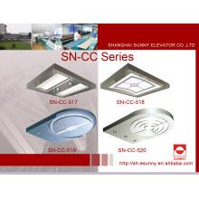 Teto do elevador com o painel superior acrílico (SN-CC-517)