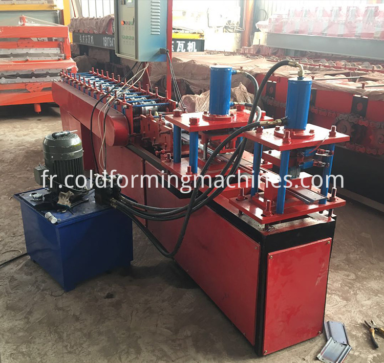 shutter door roll forming machine 12